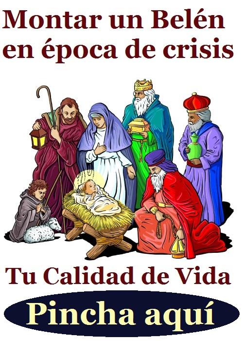 Montar un Belen de Navidad en tiempos de crisis